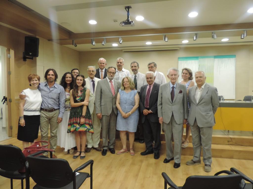 Εκδήλωση προς τιμήν του Dr. Lorenzo Amberg Πρέσβη της Ελβετίας στην Ελλάδα