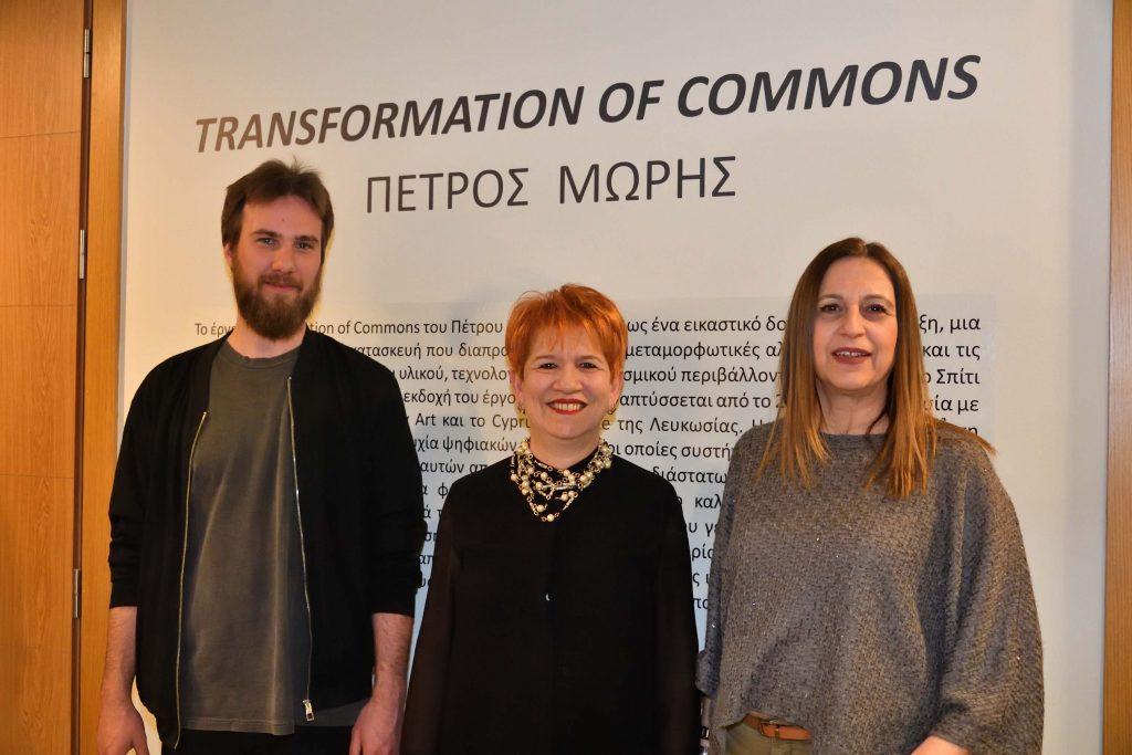 Έκθεση Transformation of Commons του Πέτρου Μώρη