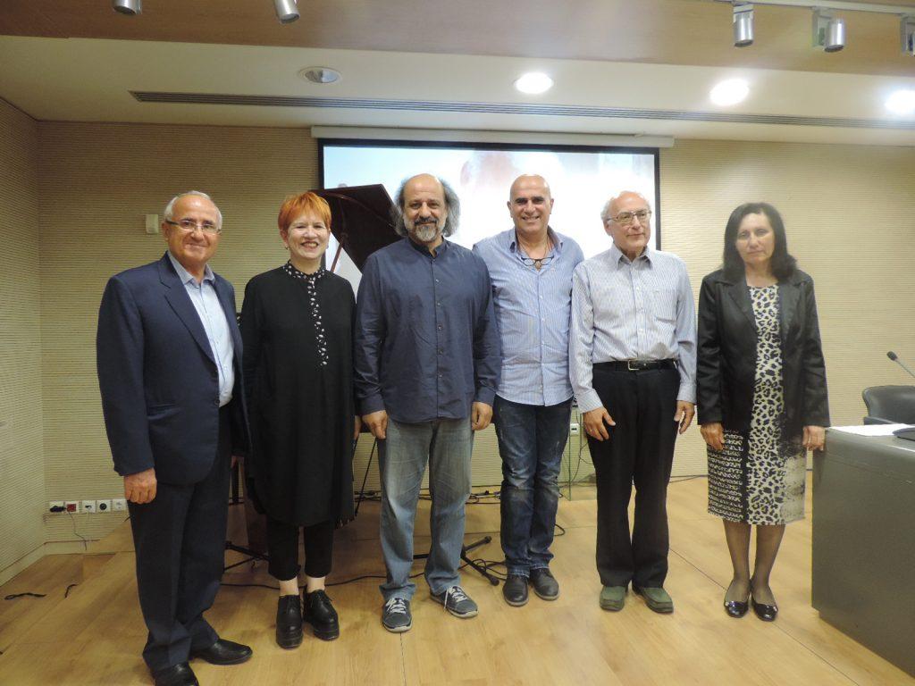 Τιμητική εκδήλωση για τον ποιητή και μουσικό Στέφανο Ζυμπουλάκη