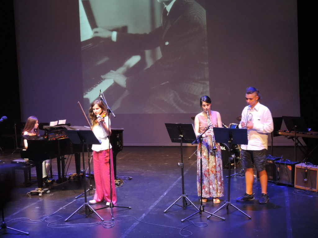 Συναυλία A taste of jazz του Εθνικού Ωδείου Νέας Σμύρνης