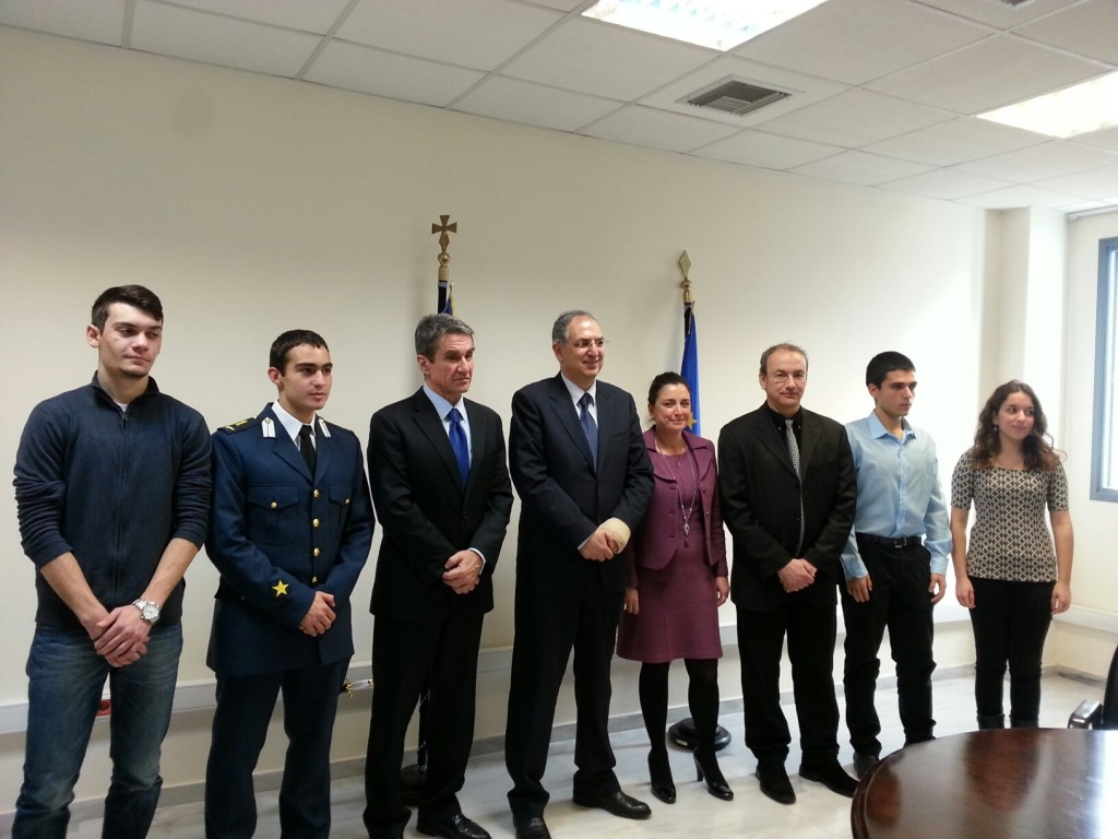 Συνάντηση Υπουργών Παιδείας Κύπρου-Ελλάδος