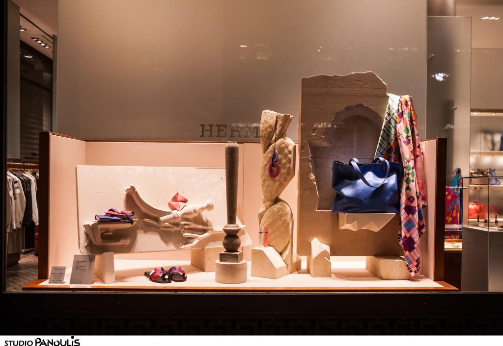 Οίκος Hermès – Αποκαλυπτήρια του Έργου της Ελίνας Ιωάννου