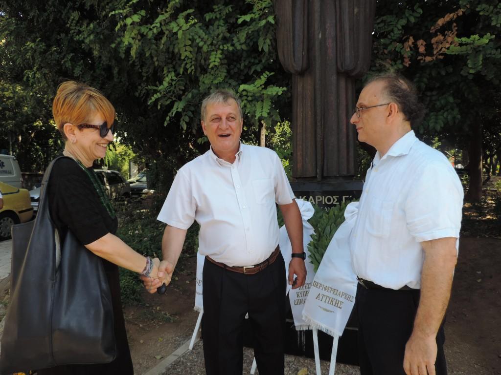 Μνημόσυνο του Αρχιεπισκόπου Μακαρίου Γ' στην Αθήνα