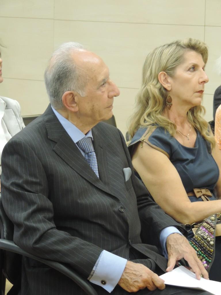 Τιμητική διάκριση στον Πρέσβη ε.τ. κ. Τάσου Παναγίδη