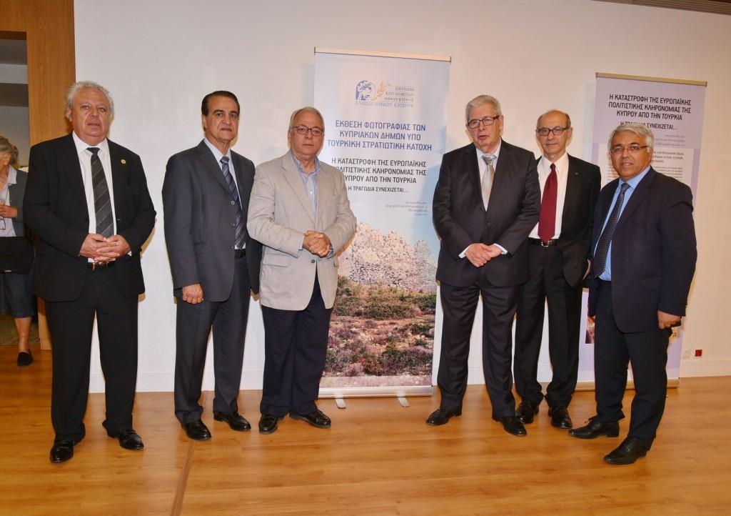 Εκδήλωση αφιερωμένη στους Κατεχόμενους Δήμους Κύπρου-Έκθεση φωτογραφίας η  καταστροφή του Ευρωπαϊκού πολιτισμού της Κύπρου από την Τουρκία.Η τραγωδία συνεχίζεται…