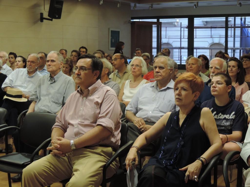 """Διάλεξη: """"Έλληνες, Γραικοί, Ρωμιοί: σηματοδοτήσεις και ευρωπαϊκή ιδέα"""" της Όλγας Κατσιαρδή-Hering"""