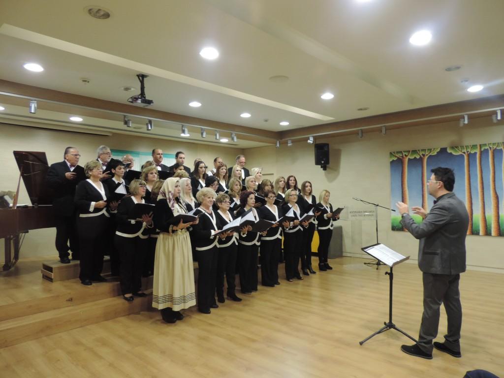 Συναυλία του Φωνητικού Συνόλου Δήμου Λάρνακας