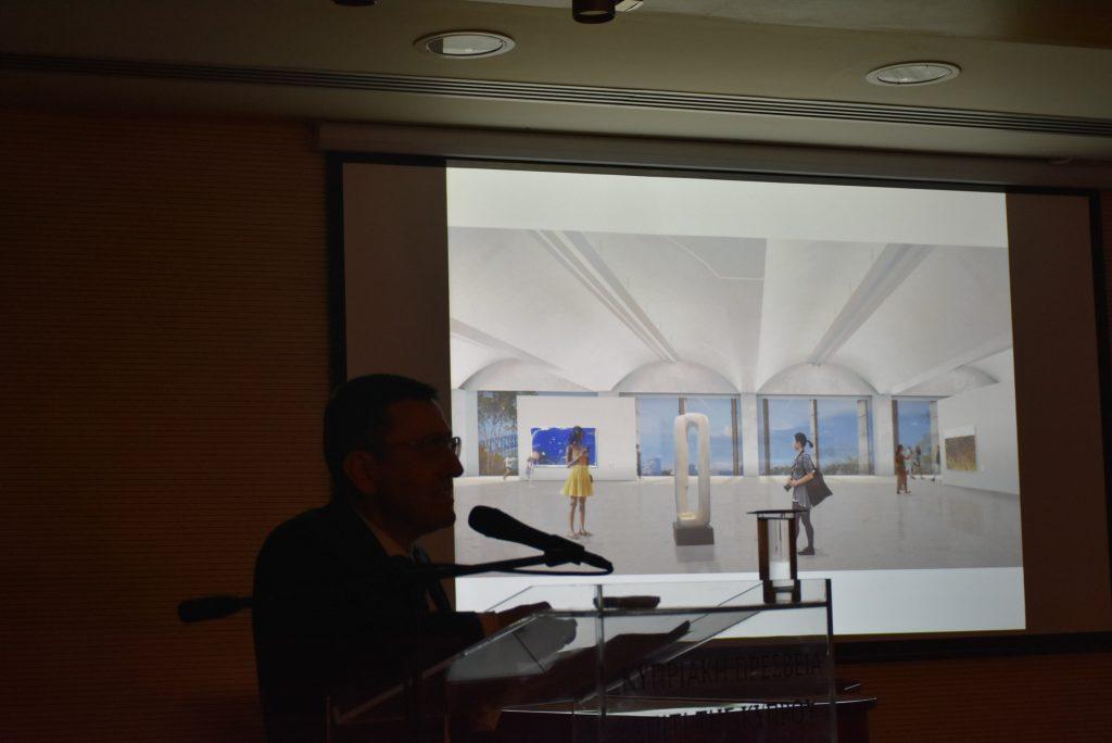 Διάλεξη: του αρχιτέκτονα Angelo Candalepas