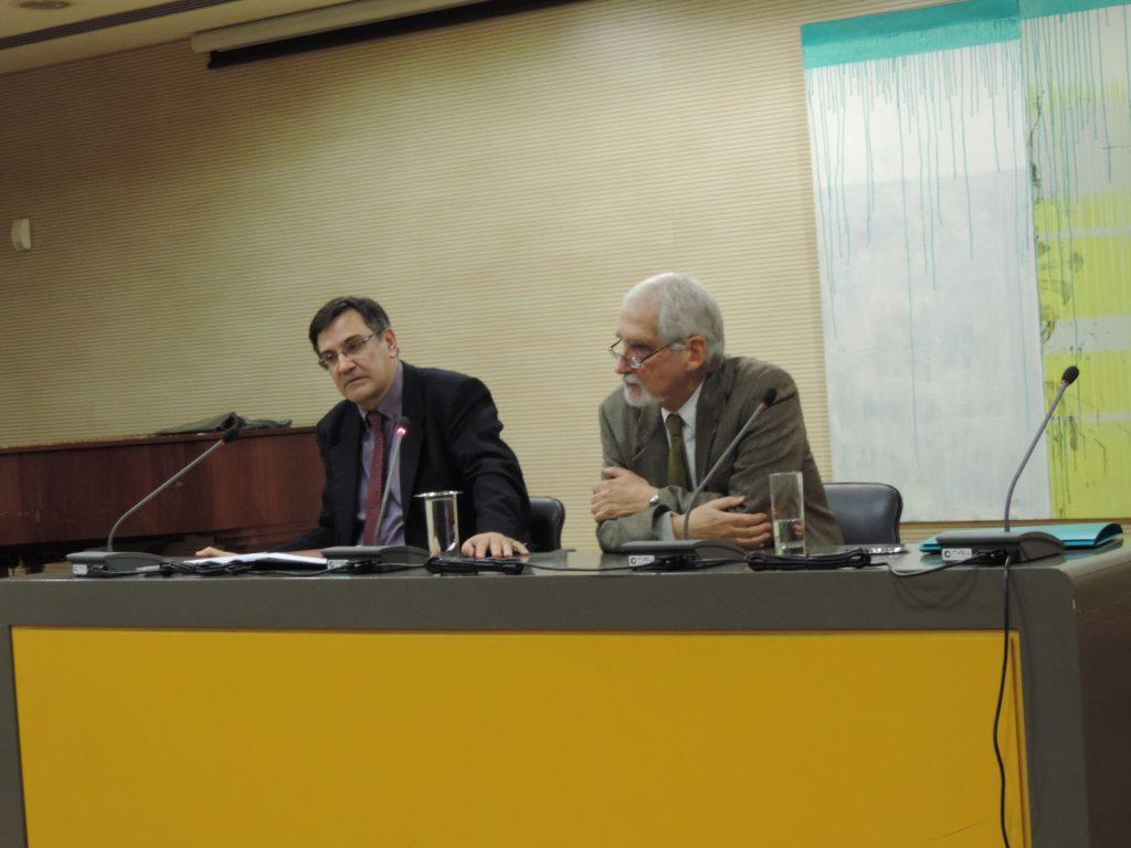 Διάλεξη με θέμα: Ο ιστορικός ερευνητής αντιμέτωπος με τη συνείδησή του. Μια κατάθεση ψυχής