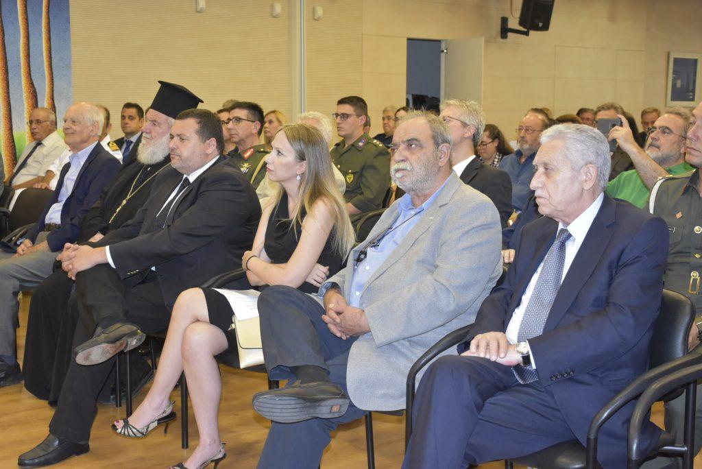 Επετειακή αντικατοχική εκδήλωση για τα 44 χρόνια από το πραξικόπημα και την τουρκική εισβολή στην Κύπρο το 1974