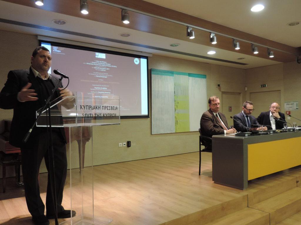Διάλεξη του Διοικητή της Τράπεζας της Ελλάδος Γιάννη Στουρνάρα