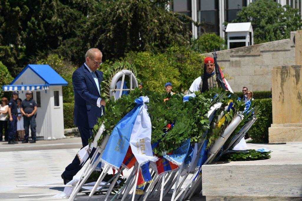 Αρχιερατικό Μνημόσυνο για τους πεσόντες κατά το πραξικόπημα και την τουρκική εισβολή στην Κύπρο το 1974