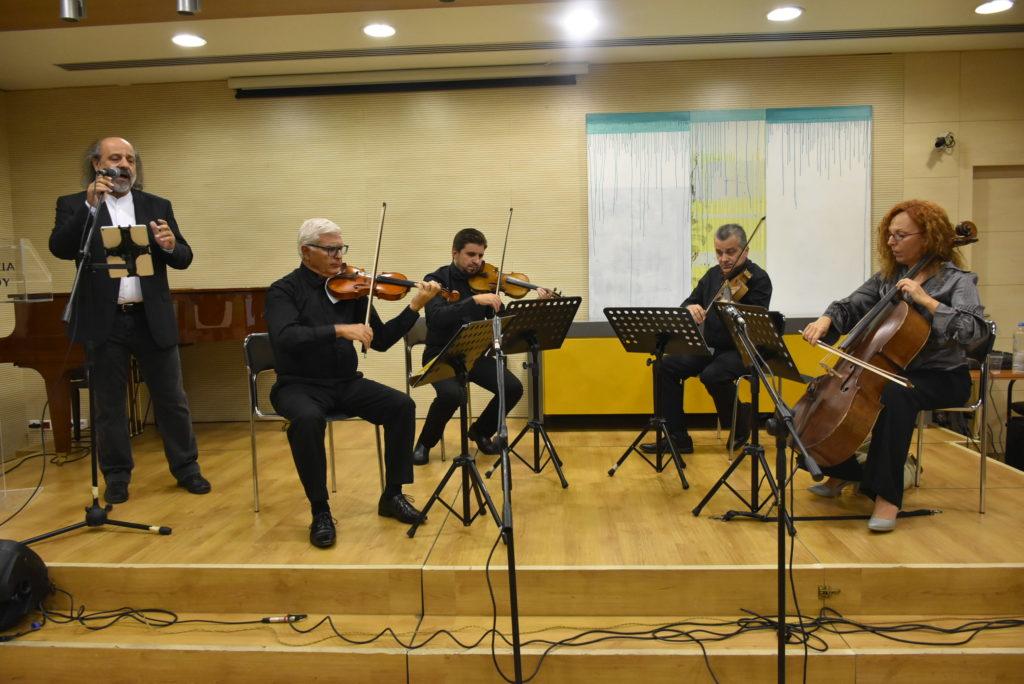 Συναυλία Έλληνες και Κύπριοι συνθέτες