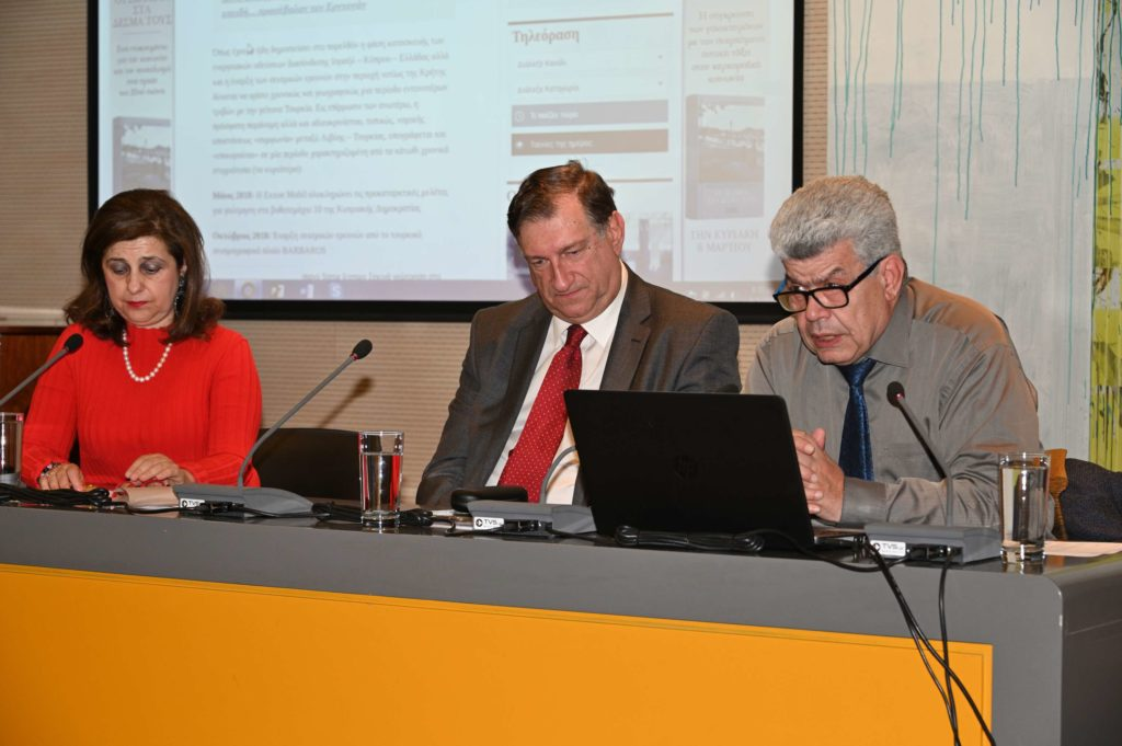 Διάλεξη του Ιωάννη Μάζη με θέμα: Οι παράνομες διεκδικήσεις της Τουρκίας στη ΝΑ Μεσόγειο
