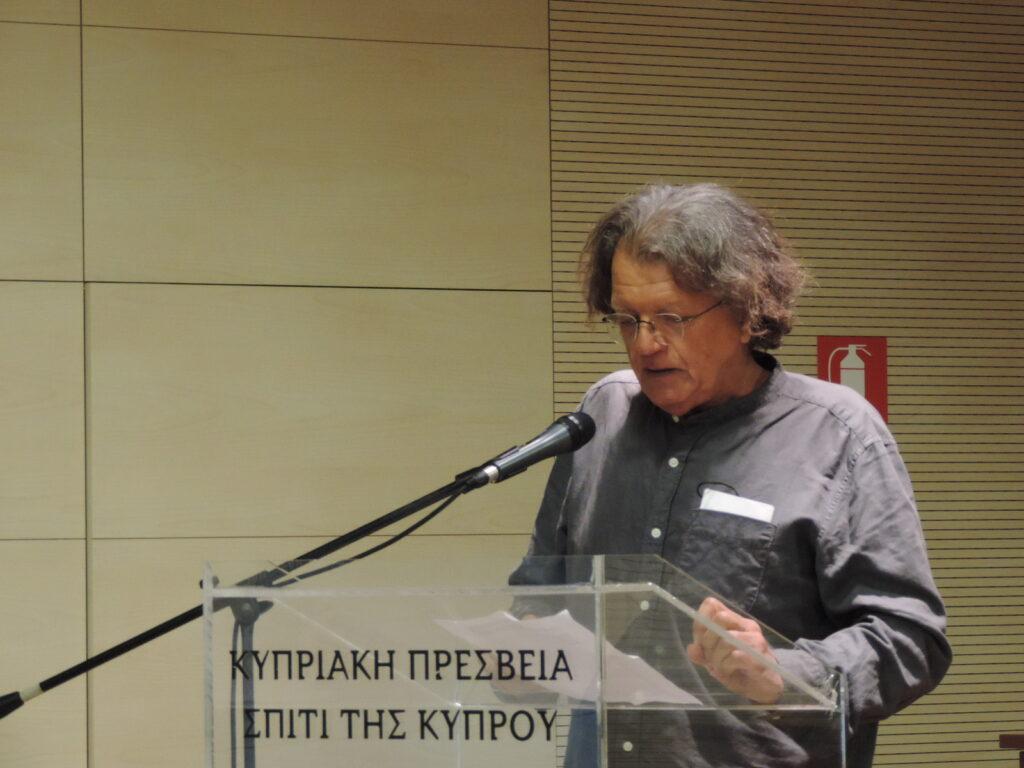 Παρουσίαση των ποιητικών συλλογών του Αντρέα Τιμοθέου